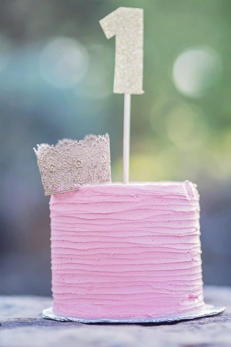 עוגה עם מספר 1